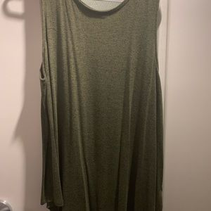 Olive green every day tank